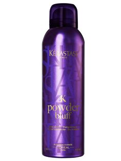 Kerastase Powder Bluff. Gives stick straight hair plenty of texture and the ability to hold a curl.