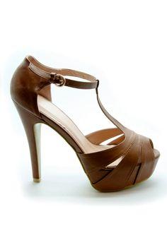 Taba Bilekten Bağlı Platform Topuklu Ayakkabı | En Yeni En Şık Topuklu Ayakkabı Modelleri | Trendy Topuk | Topuklu Ayakkabı | 150 TL ve üzeri alışverişlerinizde Kargo ücretsiz