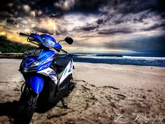 yamaha mio motor pantai wallpaper