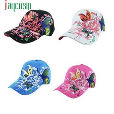 ad74c0c59b010 Summer Cap Delicate Women Embroidered Baseball Caps snapback Leisure Hat  Fashion for Cycling Hot Selling W25 Apr30-in Baseball Caps from Women s  Clothing ...