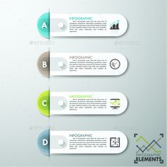 Modern Infographics Paper Template PSD, Vector EPS, AI #design Download: http://graphicriver.net/item/modern-infographics-paper-template/13587438?ref=ksioks