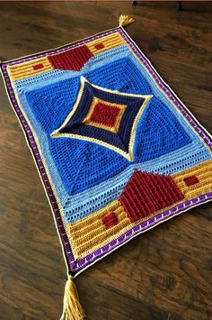 Magic Flying Carpet Crochet Pattern