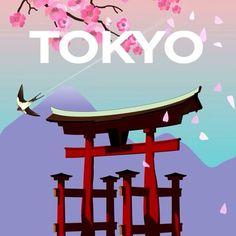 """""""Yükselen Güneş Ülkesi''nin başkenti Tokyo, Uzak Doğu'nun en önemli şehirlerinden biridir. #Maximiles #Tokyo #Japonya #ArtDeco #vintage #poster #travel #city #postcard #holiday #vacation #seyahat #tatil #şehir #kartpostal #gezi #nature #sun #güneş #ÖzgürceUç #DünyaSizin #OnuİyiKullanın #ŞehirPosterleri #instagood #picoftheday #instacity Art Deco, Instagram Posts, Movies, Movie Posters, Films, Film Poster, Popcorn Posters, Cinema, Film Books"""