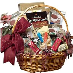 Art of Appreciation Gift Baskets Cafe Gourmet Premium Coffee Basket Art of App. Art of Appreciation Gift Baskets Cafe Gourmet Premium Coffee Basket Art of Appreciation Gift Bask Dyi Gift Baskets, Coffee Gift Baskets, Gift Baskets For Women, Gourmet Gift Baskets, Gourmet Gifts, Coffee Lover Gifts, Food Gifts, Coffee Lovers, Basket Gift