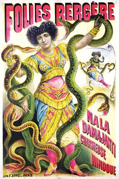 Folies Bergere-Nala Damajanti Charmeuse Hindou