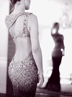 Beaded formal dress dress pretty elegant beads prom sequins formal long fitting