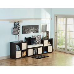 Better Homes and Gardens 11-Cube Organizer, Wall Unit, Multiple Colors
