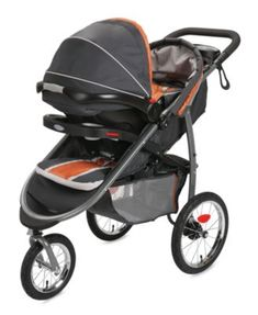 Graco FastAction Fold Jogger Click Connect Jogging Stroller