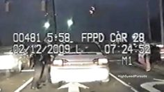 Ohio High Speed Police Chase Crazy Woman (Dashcam Video)