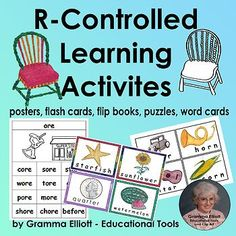 Tricky Words R-Controlled Vowel Activities   TpT R Controlled Vowels Activities, Vowel Activities, Learning Activities, Teaching Resources, Sorting Activities, Kindergarten Literacy Stations, Word Sorts, Rhyming Words, Matching Cards