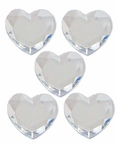 For Valentines Day we also LOVE Mark Richards Clear Heart Stickers!!