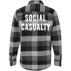 Social Casualty Flannel