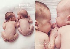 newborn twins <3