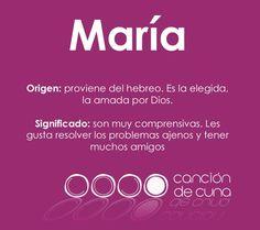 María, origen y significado del tercer nombre de niña más usado en 2012
