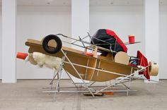 Jason Rhoades, Fucking Picabia Cars / Picabia Car with Ejection Seat, installation view at BALTIC, 2015