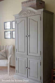 Painted armoire usin