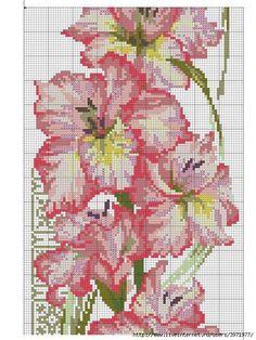 Gallery.ru / Photo # 165 - Cross Stitch (Flora) - Vladikana ~~ FLOWERS ON BLACK PG 4 OF 6