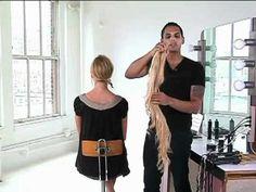 Hills Inspired Side Ponytail Video (use fake hair to make short ponytail look long)
