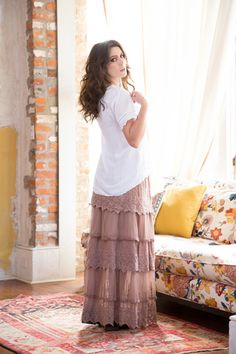 Made for Mingling Skirt   Mod Retro Vintage Skirts   ModCloth.com