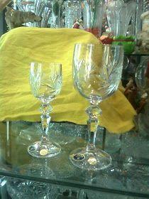 COPAS Y VASOS PERU: COPAS DE CRISTAL - VENTA Flute, Wine Glass, Tableware, Vases, Puertas, Crystals, Dinnerware, Dishes, Flutes