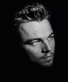 Leonardo DiCaprio--beautiful portrait--he never looked better!