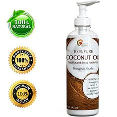 Fractionated Coconut Oil  100 Pure therapeutic grade Grade  Rich in Fatty Acids  Great Carrier for Essential Oils  Aromatherapy Use By Maple Holistics * To view further for this item, visit the image link.Note:It is affiliate link to Amazon.