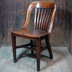 Vintage Bankers Chairs For Dining Room