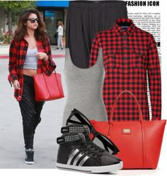 """""""Get The Look: Selena Gomez"""" by prettyorchid22 on Polyvore"""