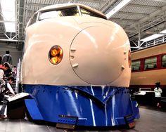 Tokaido Shinkansen 0 series, the original Shinkansen.