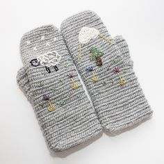Ravelry: avlors Flat top Finnish Mittens in Finnish Stitch