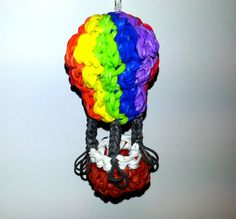 Hot Air Balloon Tutorial (using ONLY a hook!) tutorial by Feelin' Spiffy.