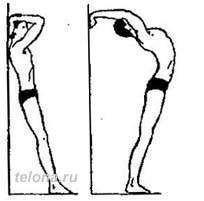 Упражнение против сутулости