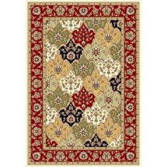 Safavieh�Lyndhurst Rectangular Multicolor Area Rug (Common: 9-ft x 12-ft; Actual: 8-ft 11-in x 12-ft)