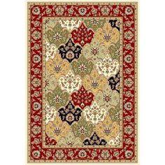 Safavieh Lyndhurst Rectangular Multicolor Woven Area Rug (Common: 5-ft x 8-ft; Actual: 5.25-ft x 7.5-ft)