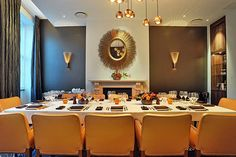 Nulty - Sixtyone Restaurant, The Montcalm - Dining Room Interior Lighting Design
