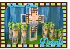 veladoras decoradas  para bautizo http://facebook.com/detailss