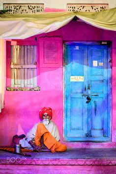 House of colours, Jodphur, India