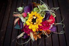 Bridesmaid Bouquets (photo credit to Melanie Kercheval)