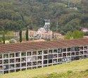 Archivo Historico Minero     Caballistas en San Benigno, Valle de Turón, Mieres, Asturias. Hacia el año 1910.