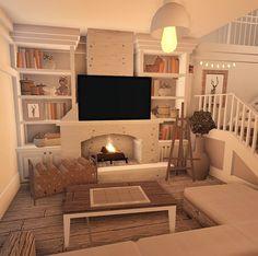 Tiny House Layout, House Layout Plans, House Layouts, Tiny House Bedroom, Bedroom House Plans, House Rooms, Sims House Design, Two Story House Design, Simple Bedroom Design