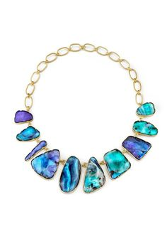 Irene Neuwirth ~ Boulder Opals Necklace