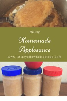 Making Homemade Applesauce Real Food Recipes, Healthy Recipes, Homemade Applesauce, Frugal Meals, Canning Recipes, Homesteading, Food To Make, Good Food, Gluten Free