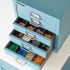 Lego storage - Keep your children's Legos collection contained and easily accessible with a storage table. A low table can provide children with a flat Storage Tubs, Ikea Storage, Plastic Storage, Storage Boxes, Storage Ideas, Toy Storage, Storage Organization, Lego Storage Drawers, Organizing Ideas