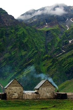 Iceland is quite amazing.  Mountain home, Iceland