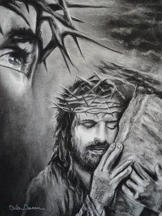 Drawings of Jesus Christ | Christ Drawing - Christ Fine Art Print