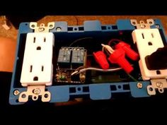 Internet Controlled Power strip using a Raspberry PI (15 Amp / 120 Volt) - YouTube