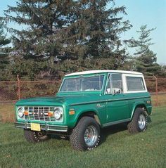 i always said i want to own a ford bronco, and i specifically want this one.