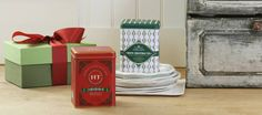 CHRISTMAS GIFT IDEA #2: HARNEY & SONS FINE TEAS - Harney & Sons was founded on a commitment to deliver customers with a superior tea drinking experience, using the finest quality tea possible. This promise, made 30 years ago, serves as the company's guiding principle. The company, which sources, blends, and packages their own product from start to finish, has grown from their original six teas, to more than three hundred. Available at Endless Ideas Interiors #EndlessIdeas