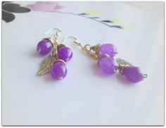 Natural Alexandrite earrings,semi precious gemstone free shipping Alexandrite, Semi Precious Gemstones, Stud Earrings, Free Shipping, Natural, Jewelry, Jewlery, Jewerly, Stud Earring