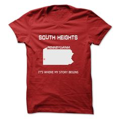 South Heights MN15 T-Shirts, Hoodies. SHOPPING NOW ==► https://www.sunfrog.com/LifeStyle/South-Heights-MN15.html?id=41382